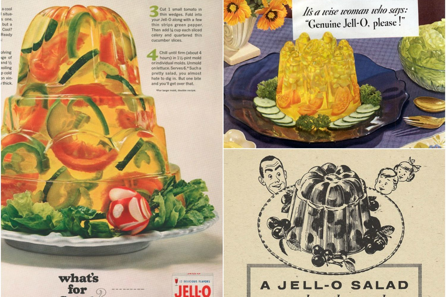 Content marketing: Jell-O recipes