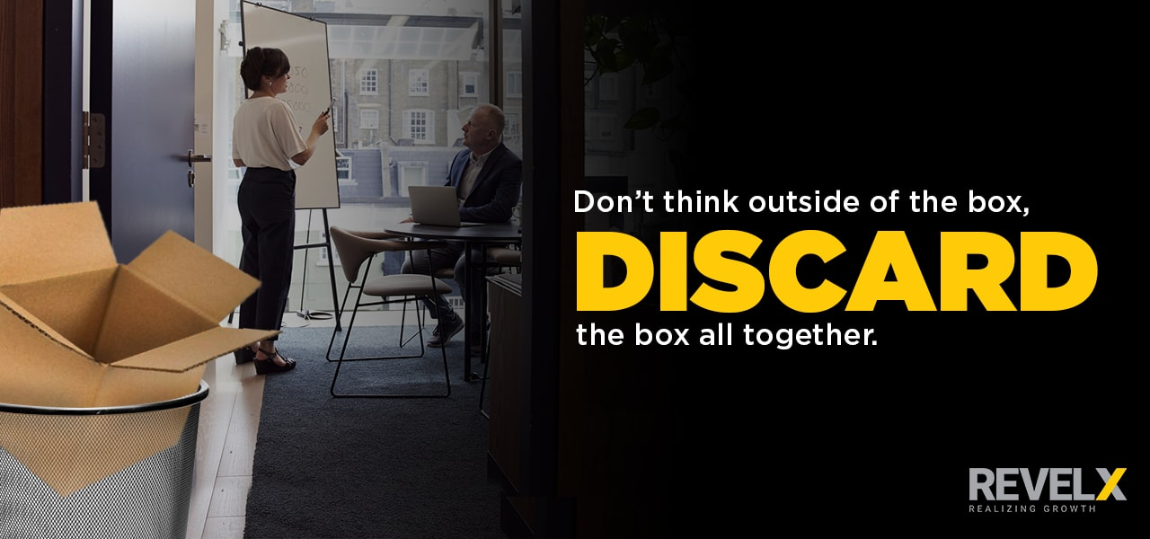 DARE mindset - discard the box