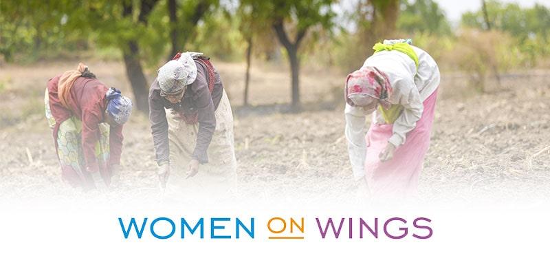 indian women farming wow logo